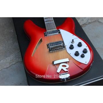 Custom Shop 360 3 pc Wood Fireglo Electric Guitar
