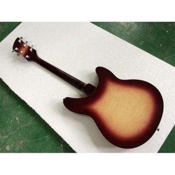 Custom Shop 360 2 Pickups Burgundy Burst Electric Guitar