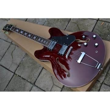 Custom Shop 335 Wine Red Jazz Electric Guitar