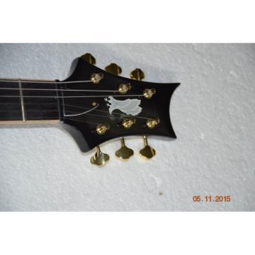 Custom Shop 24 Frets PRS Electric Guitar Gray Flame Maple Top