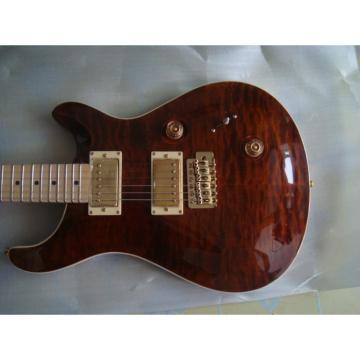 Custom Shop 24 Brownburst PRS Electric Guitar