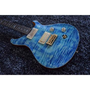 Custom Shop 22 Frets PRS Blue 6 String Electric Guitar
