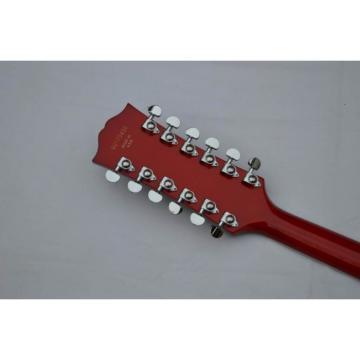 Custom Shop 12 String Tiger Maple Top Electric Guitar