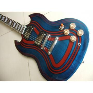 Custom SG Angus Young Zooy Suit Electric Guitar