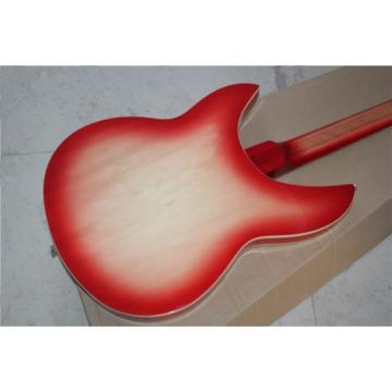 Custom Shop 12 String Fireglo Red 380 Electric Guitar