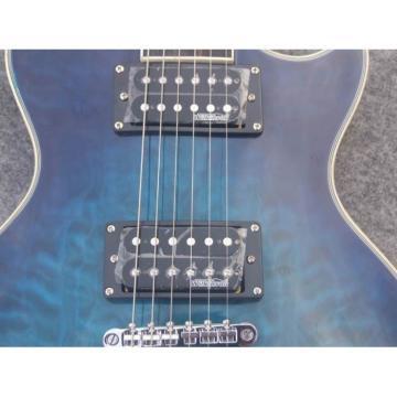 Custom Series TTGC Maple Top Ocean Blue Electric Guitar