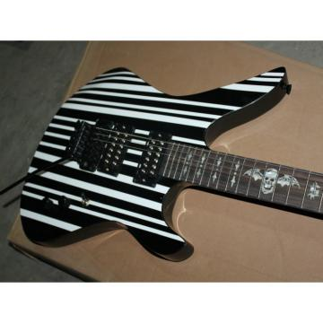 Custom Schecter Black Synyster Electric Guitar