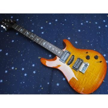Custom PRS Santana Sunburst Electric Guitar