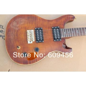 Custom PRS Santana Brown Electric Guitar