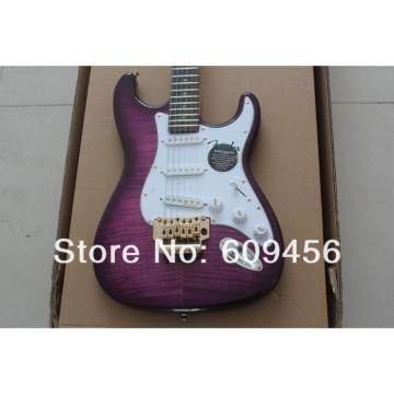 Custom Purple Fender Ehsaan Noorani Stratocaster Electric Guitar