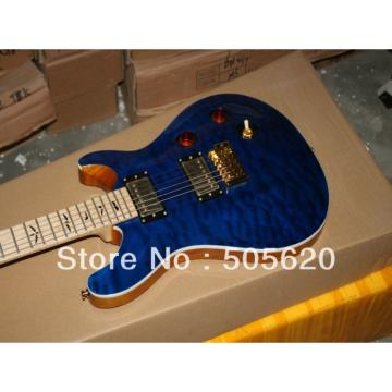 Custom PRS Santana Blue Wave Electric Guitar