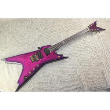 Custom Purple Dean Dime Electric Guitar