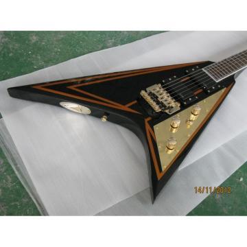 Custom Shop ESP Flying V Authorized EMG Pickups Guitar