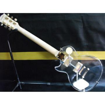 Custom Plexiglass Acrylic Transparent LP Standard Electric Guitar