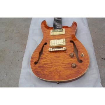Custom Paul Reed Smith Yellow Hollow Electric Guitar