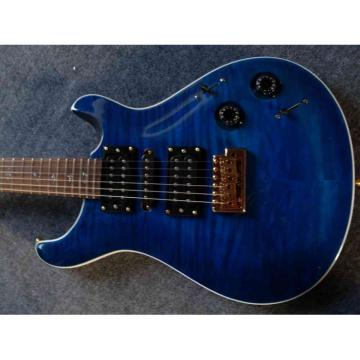 Custom Paul Reed Smith Deep Blue Electric Guitar
