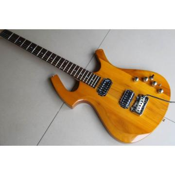Custom Natural Maple Top Unique Fly Mojo Electric Guitar
