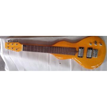 Custom Natural Handmade Travel Electric Guitar