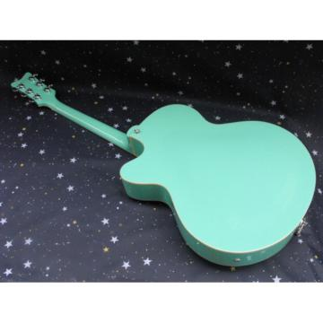 Custom Nashville Gretsch Mint Green Electric Guitar
