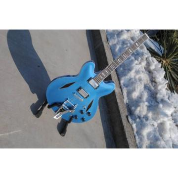 Custom LP Dave Grohl Pelham Blue DG335 Electric Guitar Authorized Bigsby
