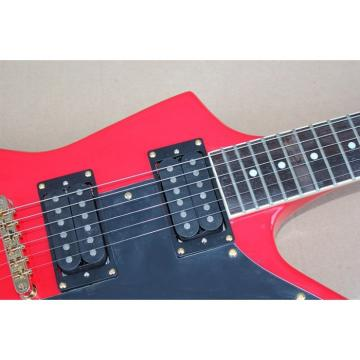 Custom guitarra Explorer Korina Red Finish Electric Guitar