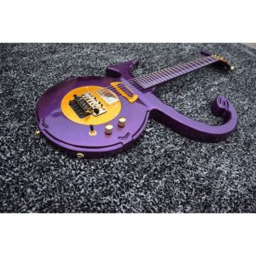 Custom Left/Right Handed Option Prince 6 String Love Purple Electric Guitar