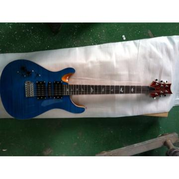 Custom Left Handed Paul Reed Smith Whale Blue Electric Guitar