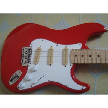 Custom Jimmie Vaughan Fender Red Electric Guitar