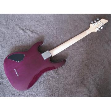 Custom Kepoon Purple Patent E Electric Guitar