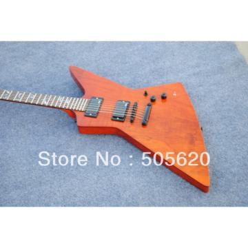 Custom Ken Lawrence Explorer Natural Electric Guitar