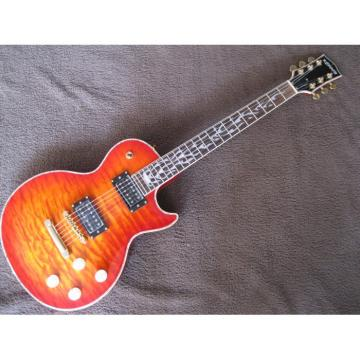 Custom Kepoon Iced Tea Patent K Electric Guitar