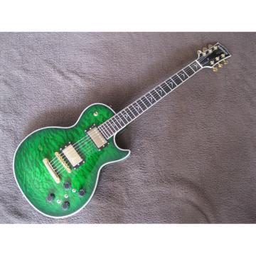 Custom Kepoon Green Patent J Electric Guitar