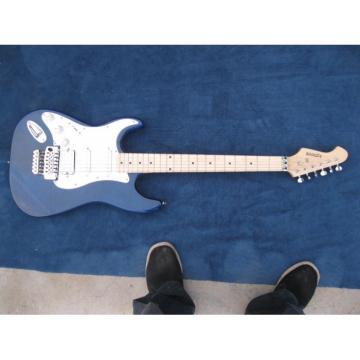 Custom Kepoon Blue Patent B Electric Guitar