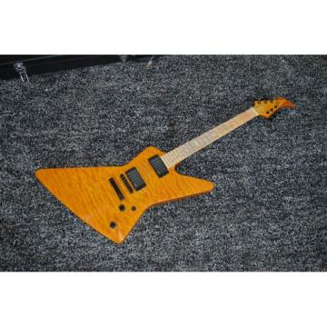 Custom Ken Lawrence James Hetfield Sunburst Electric Guitar Maple Fretboard