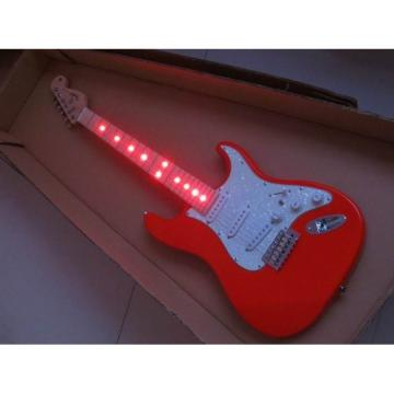 Custom Jimmie Vaughan Led Red Light District Electric Guitar