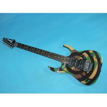 Custom Ibanez Military Army Jem Electric Guitar