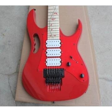 Custom Ibanez Tree of life Jem7v Red Electric Guitar