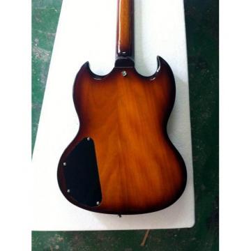 Custom G400 SG Tobacco Burst Electric Guitar