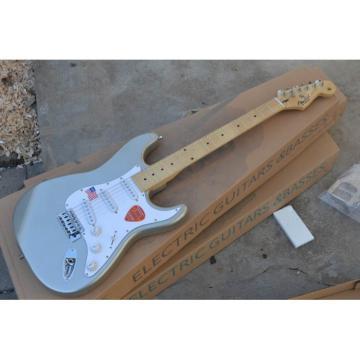 Custom Gray Fender Stratocaster Electric Guitar