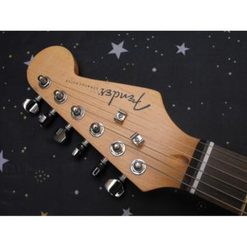 Custom Golden Fender Stratocaster Electric Guitar