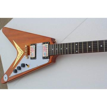 Custom Firehawk Natural Electric Guitar 1958 Korina Flying V