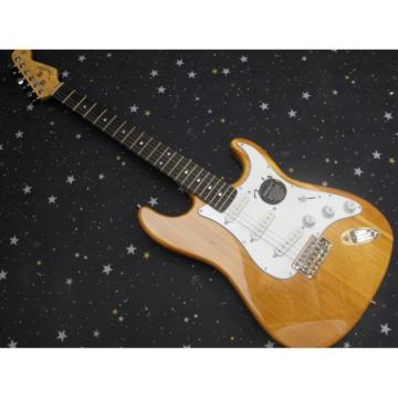 Custom Fender Natural Stratocaster Electric Guitar