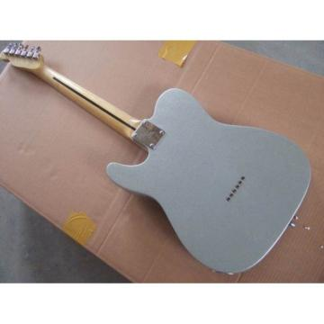 Custom Fender Gray Silver Telecaster Electric Guitar