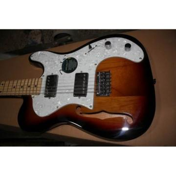 Custom Fender Vintage Fhole Telecaster Electric Guitar Thinline