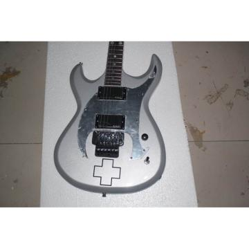 Custom ESP RZK 600 Model Electric Guitar Silver Color