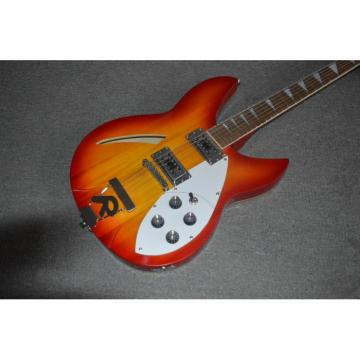 Custom Built Rickenbacker 330 Fireglo Electric Guitar Neck Through Body