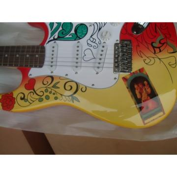 Custom American Fender Jimi Hendrix Electric Guitar