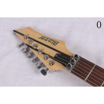 Custom 6 Strings Blazer Cream Stripe Electric Guitar