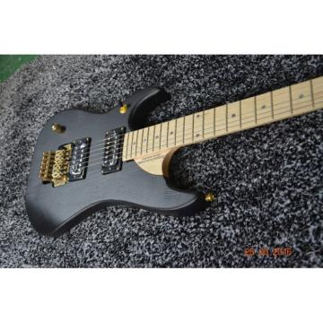 Custom 6 Strings Nuno Washburn Electric Guitar Betten Court Black