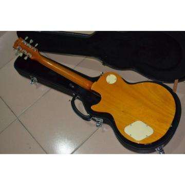 Custom 1952 LP Gold Top Electric Guitar Trapeze Tailpiece